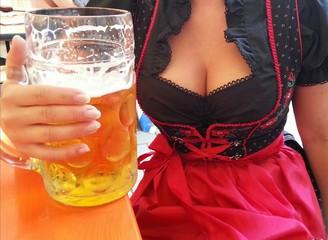 Bier und Busen