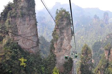 zhangjiajie national park china