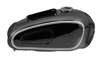 historic motorbike tank