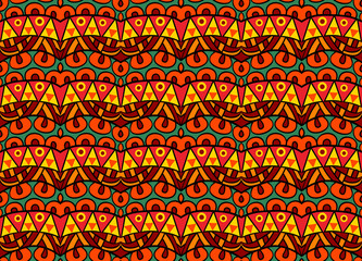 Funky Tribal Pattern