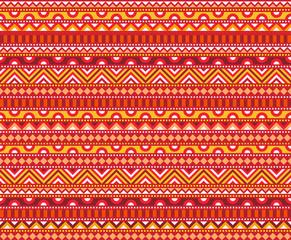 Hot Ethnic Pattern