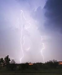 A Dance of Lightning Over a Neighborhood