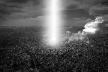 city under attack