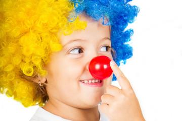 bambina clown