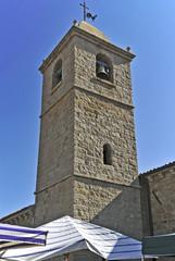 Sardegna, il campanile della la chiesa di San Pantaleo
