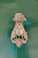 green mediterranian door