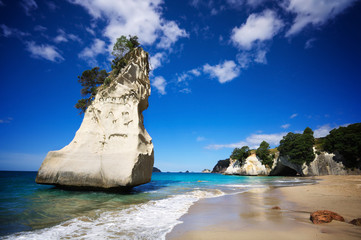 Cathedral Cove on Coromandel Peninsula, North Island, NZ