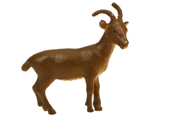 Goat plastic toy