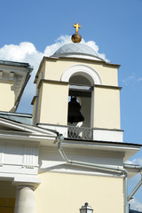 The Church of St  Louis of France  Moscow The bell