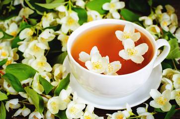 tea with jasmine