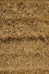 straw bale background