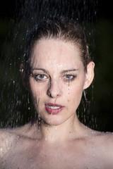duschen frau