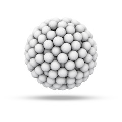 Golf ball sphere