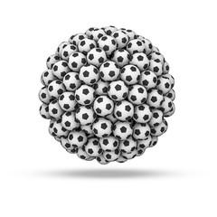 Soccer ball sphere