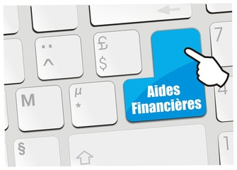 clavier aides financières