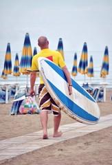 Surf con remi. SUP