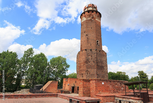 The ruins of the castle of Teutonic Order, Brodnica, Poland - 68090444