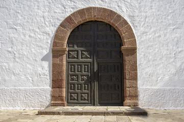 Door of Iglesia De La Antigua, Fuerteventura