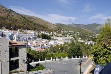 Mijas village in spain
