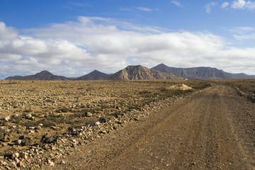 Deserted Dirt Road
