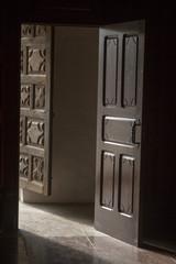Door inside Church