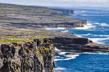 Cliffs of Inishmore, Aran islands in Ireland