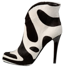 Female shoe with high heel