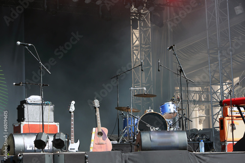 Empty concert stage - 68094615
