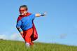 Superhero child - girl power