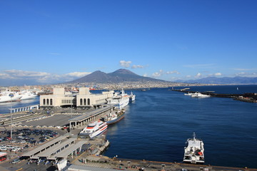 Napoli waterfront, Italy