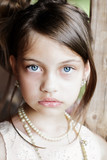 Beautiful Girl with Updo