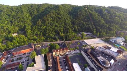 Aerial video Gatlinburg Tennessee