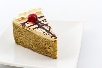 Coffee cake.