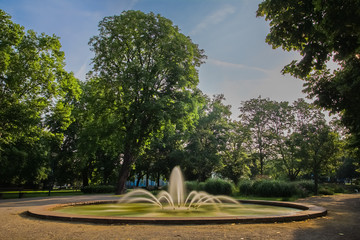 Brunnen im Büsingpark, Offenbach