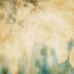Abstract grunge watercolor background.