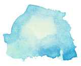 Fototapety Colorful watercolor stain