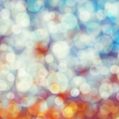 Bokeh light pastel background