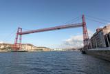 Vizcaya Bridge in Portugalete, Bilbao, Spain poster