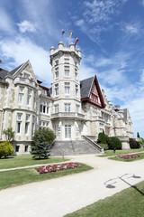 Magdalena palace in Santander, Cantabria, Spain