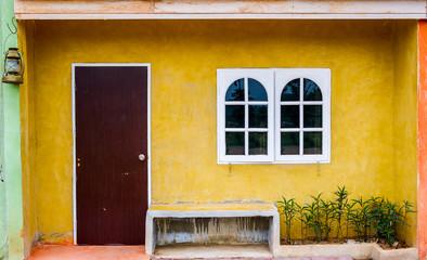 Houses Mediterranean style.