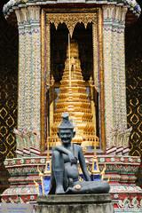 Entrance to Wat Phra Kaew in Bangkok