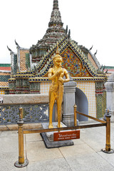 Statue in Grand Palace Complex in Bangkok