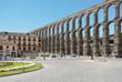 Aqueduct of Segovia on Plaza del Azoguejo