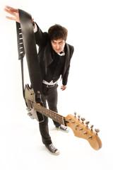weird guitar