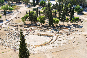 Theatre of Dionysus on Acropolis Hill, Athens