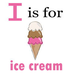 I is for Ice Cream