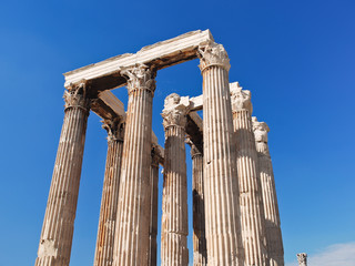 colonnade of Temple of Olympian Zeus, Athens