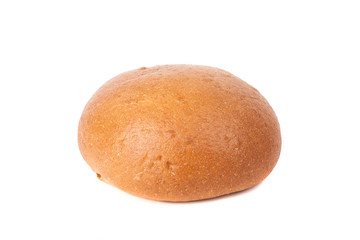bread loaf isolated on white background