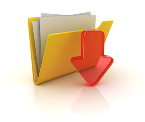 Yellow folder download