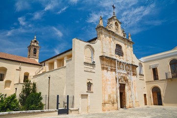 Sanctuary of Blessed Giacomo. Bitetto. Puglia. Italy.
